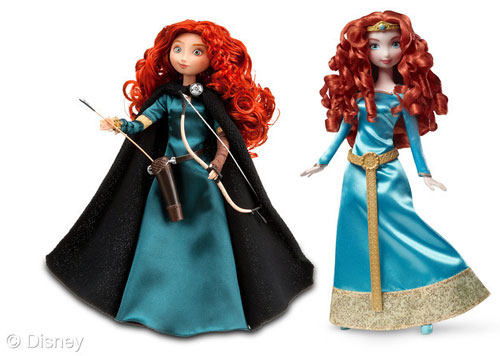 Merida Dolls: New and Old