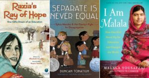 Honoring Malala:   Mighty Girl Books on Children's Fight for Education