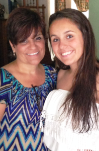 Carleigh with her mother,  Daryl Lynn O'Connell
