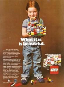 LEGO ad, 1981