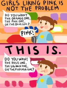 Girls Liking Pink Is Not the Problem