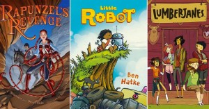 Worlds of the Imagination:   Fantasy-Filled Mighty Girl Graphic Novels