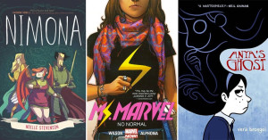 Expanding the Story:   Mighty Girl Graphic Novels for Teens