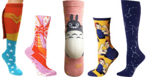 Fun Underfoot:   A Mighty Girl's Favorite Girl-Empowering Socks