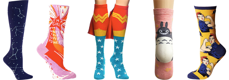 468718d1c Fun Underfoot  A Mighty Girl s Favorite Girl-Empowering Socks