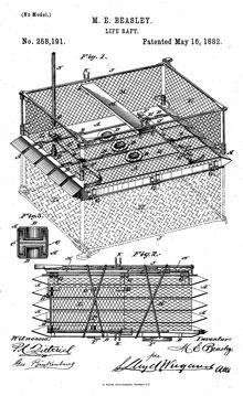 Maria Beasley's life raft design