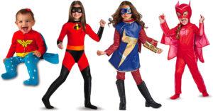 A Heroic Halloween:   35 Mighty Girl Superhero Costumes