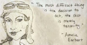 Mom Gives Her Mighty Girl A Daily Dose of    Feminist Inspiration on Her Lunch Napkin