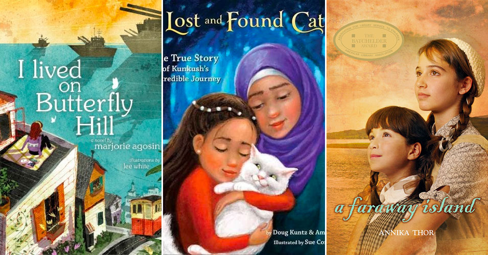 Seeking Safety in a New Land:   20 Books About Mighty Girl Refugees