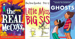 Celebrating Siblings:   50 Mighty Girl Books About Sisters & Brothers