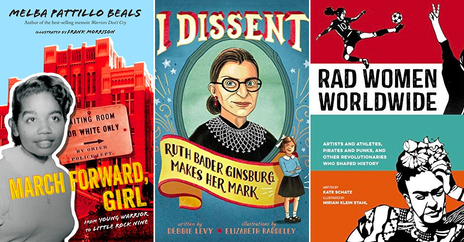 Women Who Resist:   40 Books About Girls & Women Who Fought for Change