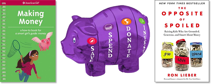 Manage Money Like a Mighty Girl: 30 Resources to Teach Kids Financial Literacy