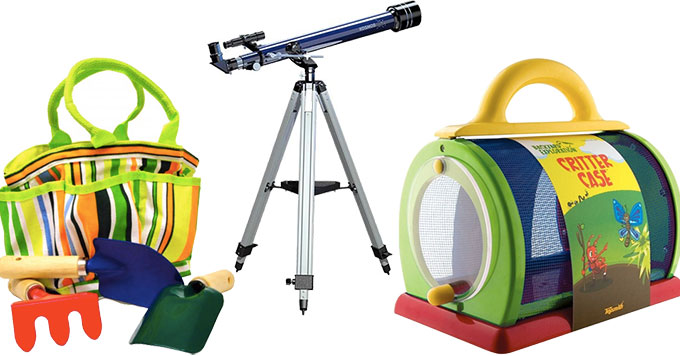 Exploring Her World: 25 Science Toys and Kits for Outdoor