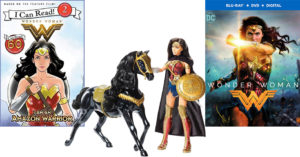 Wonder Woman Rises: Books, Toys, and Clothing Celebrating The Iconic Superhero
