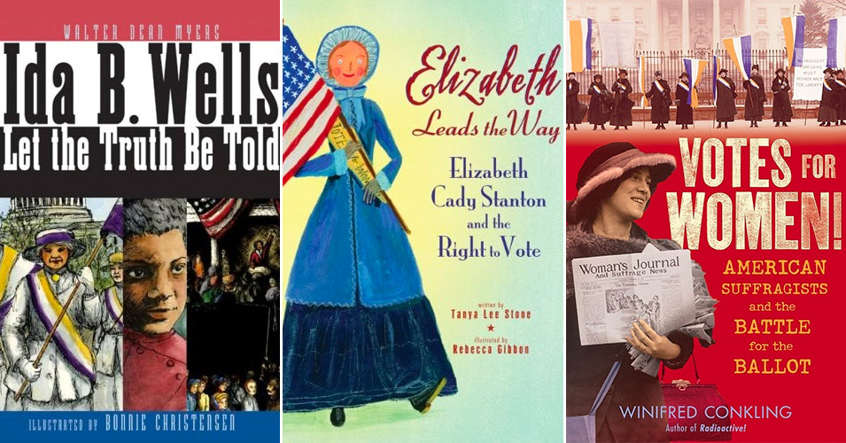 How Women Won The Vote:   Teaching Kids About The U.S. Suffrage Movement