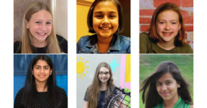 Meet the Six Mighty Girl National Finalists in the    Young Scientist Challenge
