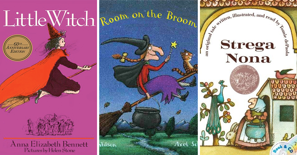 With Broomstick In Hand: 40 Books Starring Mighty Witches | A Mighty Girl