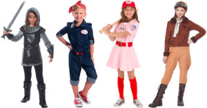 A Historical Halloween:   History-Inspired Mighty Girl Costumes