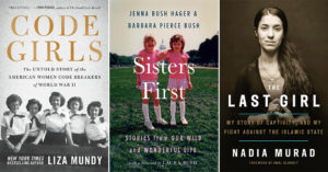 Fall 2017 New Releases:   The Mighty Women Reading List for Adults