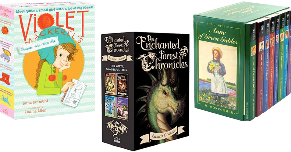 The Whole Story:    60 Book Box Sets Starring Mighty Girls
