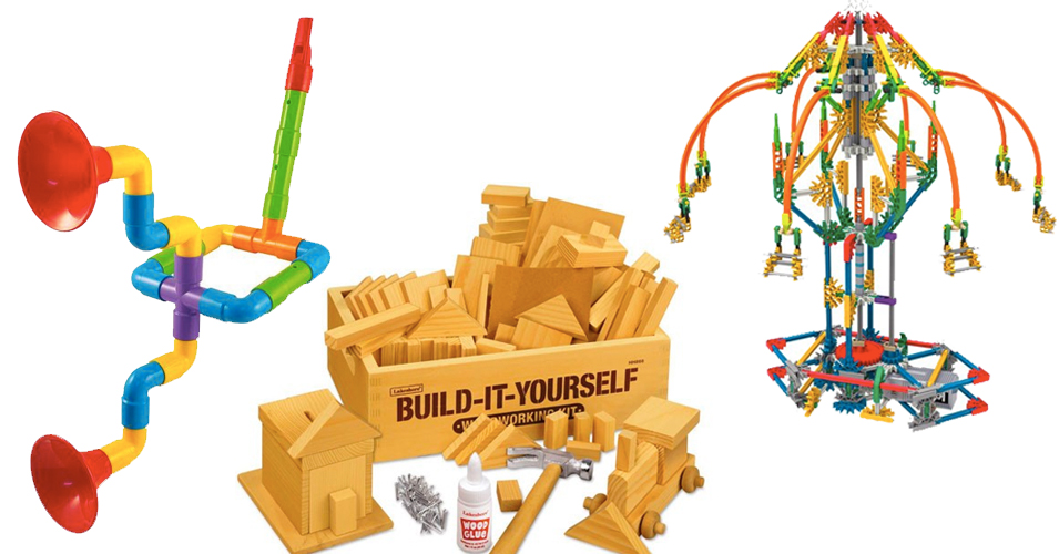 Building Her Dreams:   75 Building & Engineering Toys for Mighty Girls