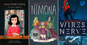 Expanding the Story:   30 Mighty Girl Graphic Novels for Teens