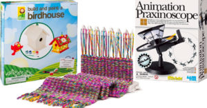 Growing Creativity:   Top 60 Arts and Crafts Toys for Mighty Girls