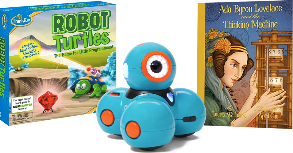 Code Like A Mighty Girl:   25 Toys & Books To Inspire Mighty Girl Coders