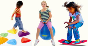 On The Move All Year Round:    40 Toys and Games for Indoor Active Play