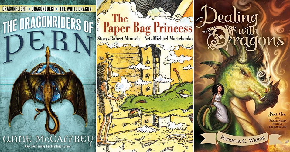 Here Be Dragons:   18 Books Starring Dragon-Loving Mighty Girls