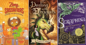 Here Be Dragons:   16 Books Starring Dragon-Loving Mighty Girls
