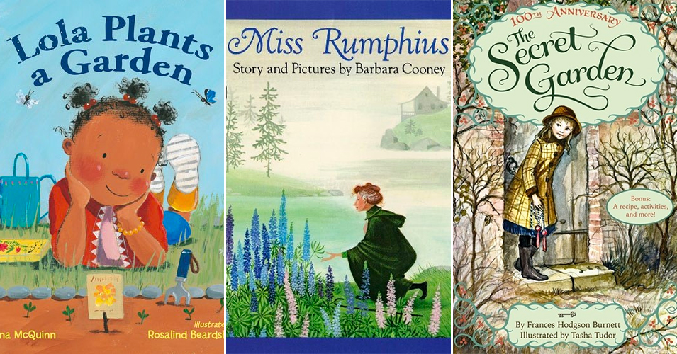 25 Mighty Girl Books Celebrating   Springtime & Gardening