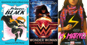 Brave, Bold, and Mighty:   13 Books About Mighty Girl Superheroes