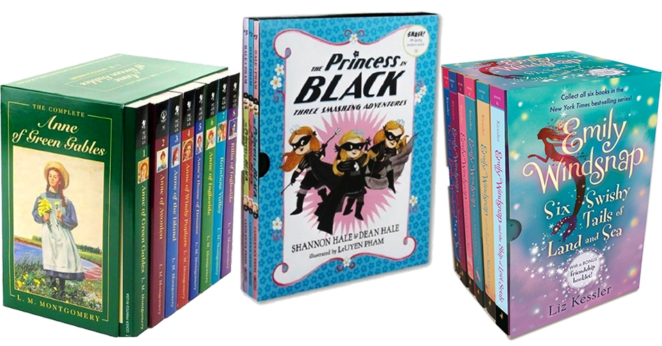 The Whole Story: 60 Book Box Sets and Collections Starring Mighty Girls
