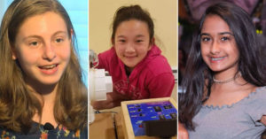 Meet the Mighty Girl National Finalists in the 2018 Young Scientist Challenge