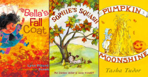 A Season of Change:   20 Mighty Girl Books Celebrating Fall