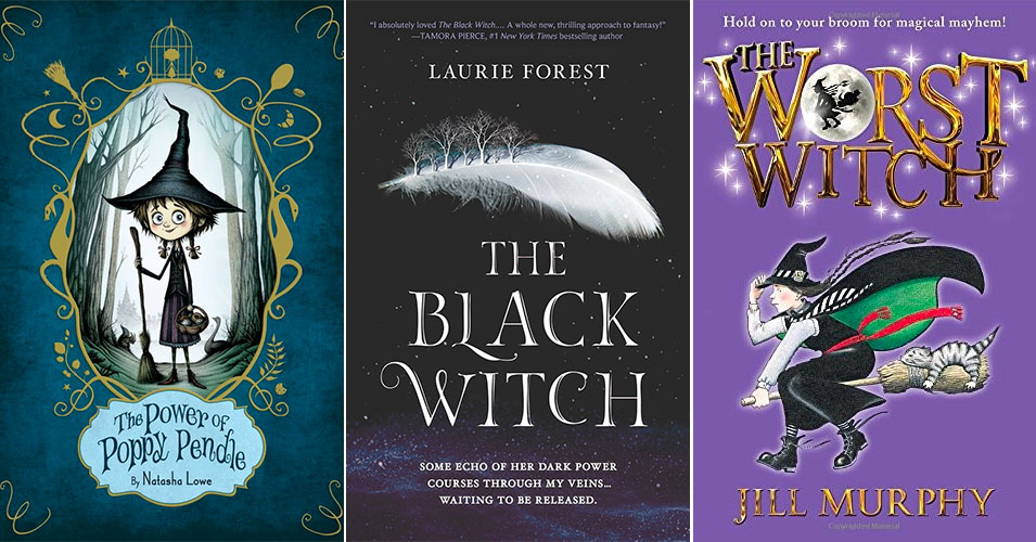 With Broomstick in Hand: 45 Books Starring Mighty Witches