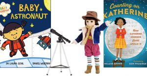 Reach For The Stars:   Books & Toys to Inspire Space-Loving Mighty Girls
