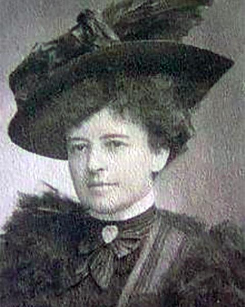 Julia Hunt Catlin Park DePew Taufflieb (1864 - 1947)