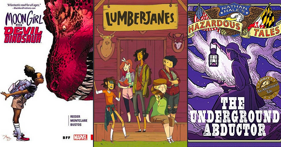 Top 60 Graphic Novels Starring Mighty Girls