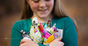 The Mighty Girl Turning Fabric Scraps Into Educational Opportunities for Girls