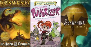 Here Be Dragons:   21 Books Starring Dragon-Loving Mighty Girls