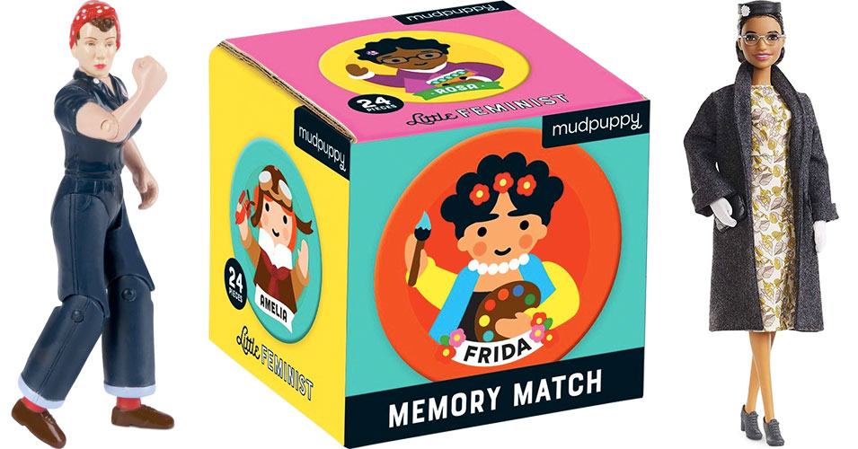 Empowered Play: Teaching Women's History With Toys and Games