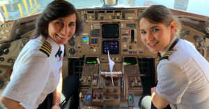 The Mother-Daughter Pilot Team Breaking the 30,000-Foot Glass Ceiling Together
