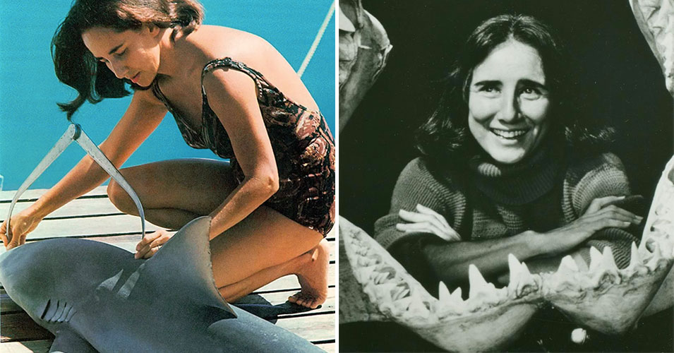 """Eugenie Clark: The Marine Biologist Who Fought Sharks' """"Bad Rap"""" as """"Gangsters of the Deep"""""""