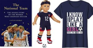 The Beautiful Game: Books, Clothing, Toys, and Gear for Soccer-Loving Mighty Girls