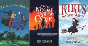 With Broomstick in Hand: 50 Children's Books Starring Mighty Witches