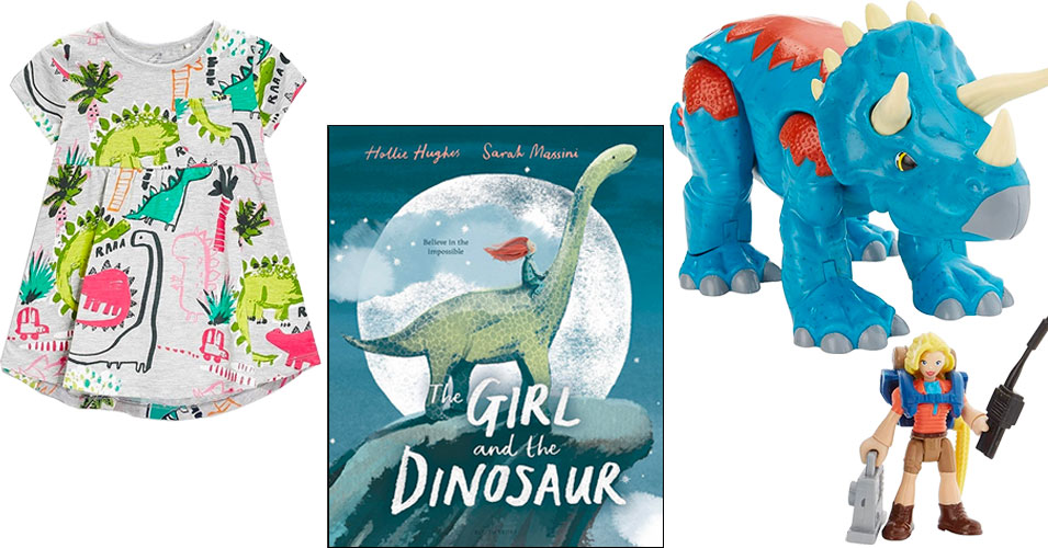 Dinos Are For Girls!   Books, Toys, and Clothing for Mighty Girl Dinosaur Lovers