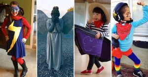 A Homemade Halloween: 50 Empowering DIY Halloween Costumes for Mighty Girls