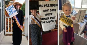Mighty Girl Suffragists Remind Us to 'Get Out and Vote!' this Election Day